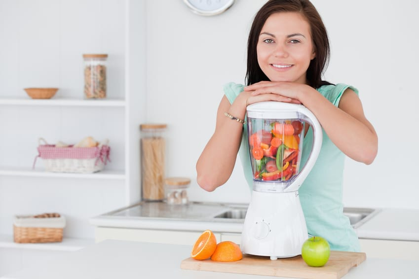 utiliser blender smoothie